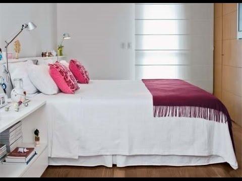 Como fazer a decora o de um quarto pequeno youtube - Como decorar un apartamento pequeno ...