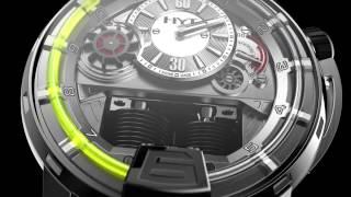 HYT - THE HYDRO MECHANICAL HOROLOGISTS (Первые гидромеханические часы)