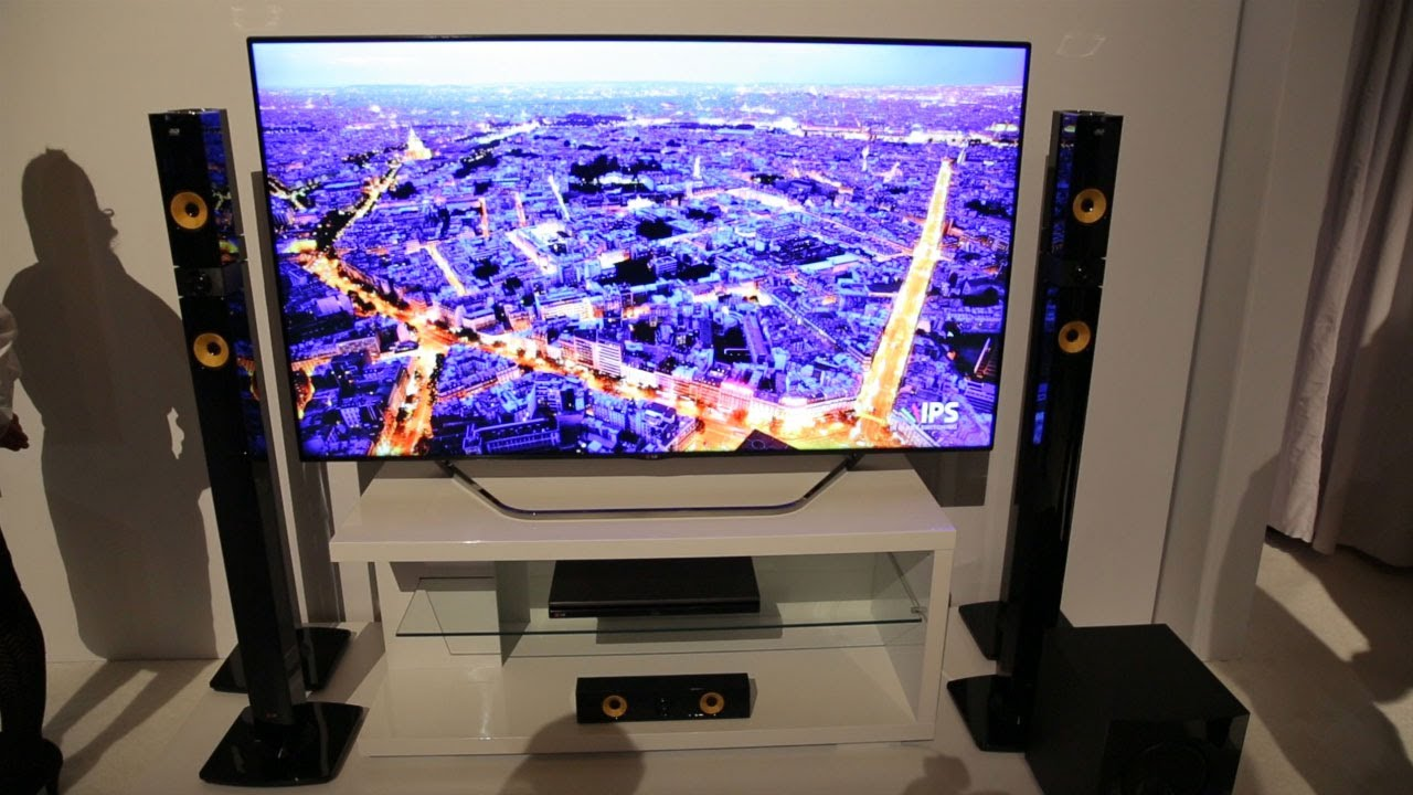 lg 4k and oled tv first impressions ces 2013 youtube. Black Bedroom Furniture Sets. Home Design Ideas