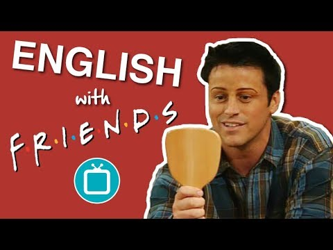 Learn English with Friends | Joey's Eyebrows - Funny English Lesson