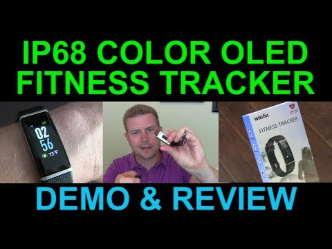 inexpensive-color-lcd-waterproof-fitness-tracker-smartwatch-heart-rate-steps-review-demo
