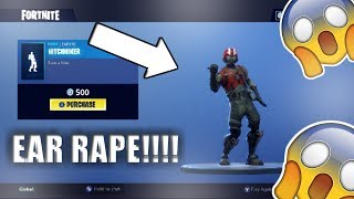FORTNITE HITCHHIKER DANCE EMOTE BASS BOOSTED