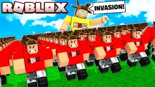 I BUILT 1,000,000 CLONE ARMY in ROBLOX!