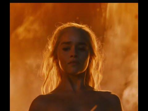 Game Of Thrones S06E04 Ending - Daenerys Burns The Dothraki Leaders