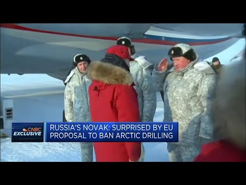 Russia surprised by EU proposal to ban arctic drilling
