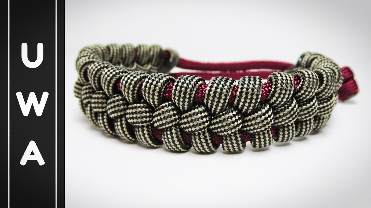 How To Make The Trader Paracord Survival Bracelet Without Buckle Uwa Orginal