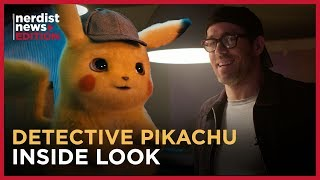 Detective Pikachu's Stars on Making a Super Effective Pokémon Movie (Nerdist News Edition)