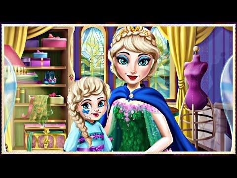 Elsa Mommy Real Makeover - Disney Frozen Makeup & Dress Up Games