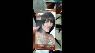 Краска для волос AVON 4.0 Темно-коричневый . Обзор, окрашивание.