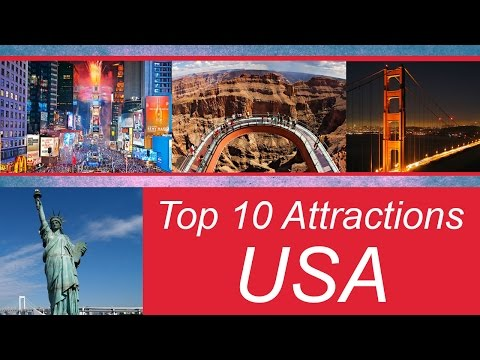 Top 10 Most Popular Tourist Destinations in USA ( Tourist Attractions )
