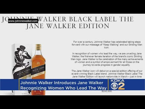 Johnnie Walker Being Replaced By Jane On Some Bottles