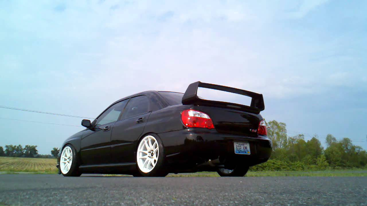blitz nur spec r on 2004 subaru impreza wrx sti youtube. Black Bedroom Furniture Sets. Home Design Ideas