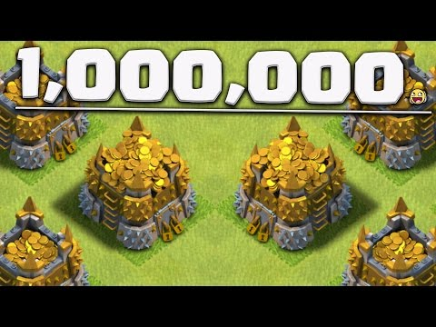 Ultimate 1,000,000 CHALLENGE in Clash of Clans!