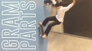 Ville Wester - Gram Part - Instagram Skateboarding Compilation # 2