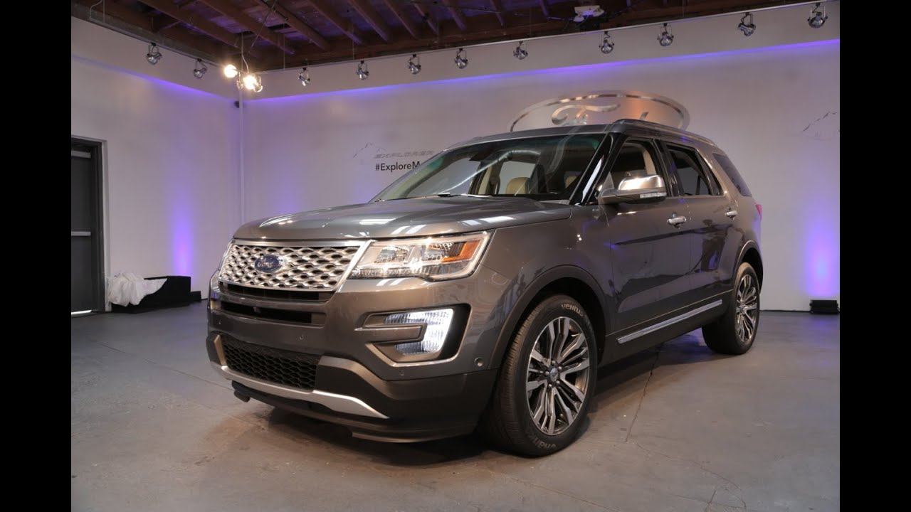 Fantastic 2016 Ford Explorer First Look  2014 LA Auto Show  YouTube