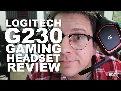 Logitech G230 Gaming Headset Review / Test - YouTube