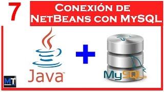 Conexion de NetBeans con MySQL [NetBeans con MySQL] [7/25]