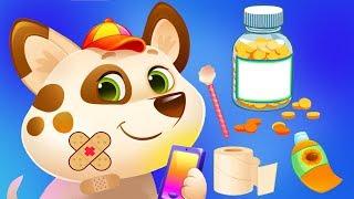 Fun Animal Puppy Care  - My Cute Virtual Pet Friend Duddu Dress Up Mini Games Kids App screenshot 5