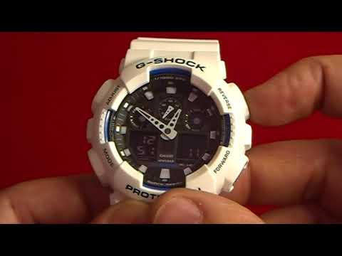 df8fb5d8ff82 Poner el hora un reloj Casio G Shock - YouTube