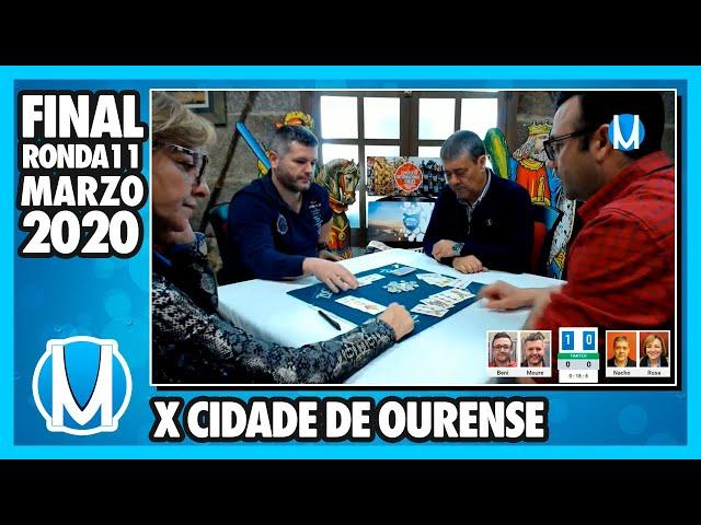 PARTIDA DE MUS - Final X Maratón Cidade de Ourense Ronda 11