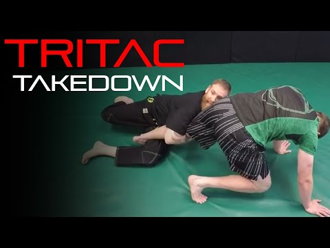 TRITAC-Jitsu: Combat Grappling Takedown: Arm Drag to Single Leg