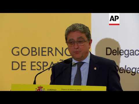 Madrid official in Barcelona hopes elections will restore self-rule