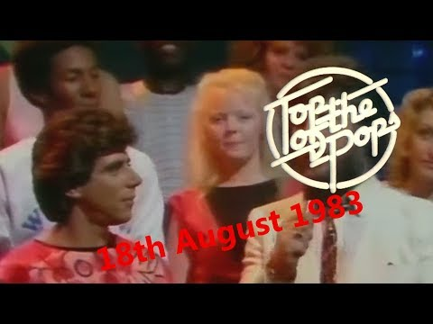Top of the Pops Chart Rundown - 18th August 1983 (Gary Davies & Dave Lee Travis)