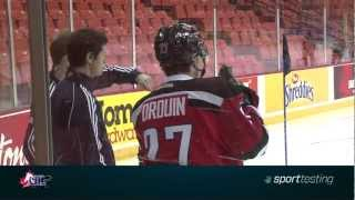 Jonathan Drouin On-ice Sport Testing At Chl Top Prospects