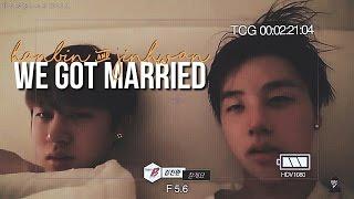 binhwan we got married