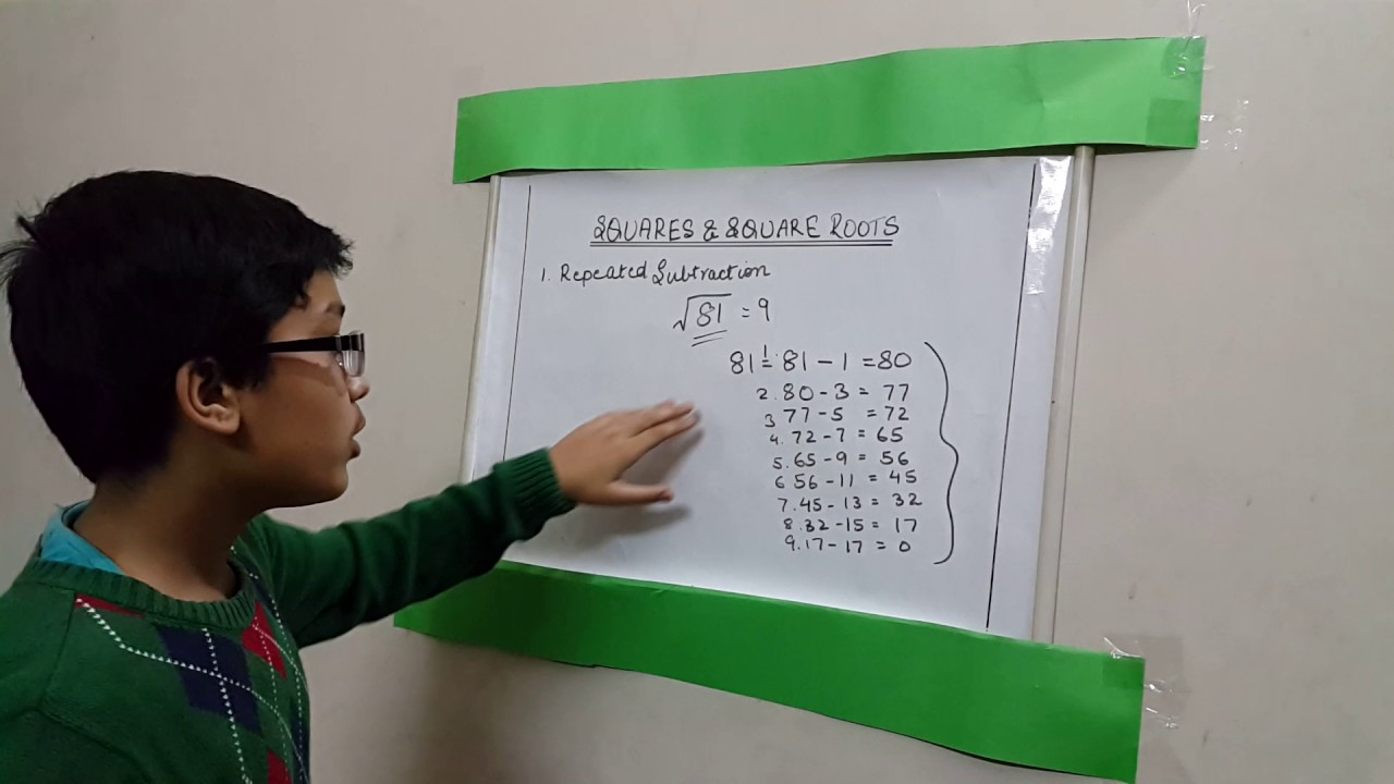 Square Root Of 196 By Repeated Subtraction Method The square root of 225 is 15. square root of 196 by repeated