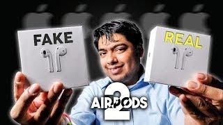 Airpods 2 (FAKE vs REAL) Una Copia Perfecta!