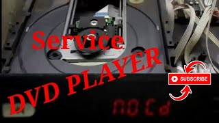 Cara Service dvd player - no disc / no cd.
