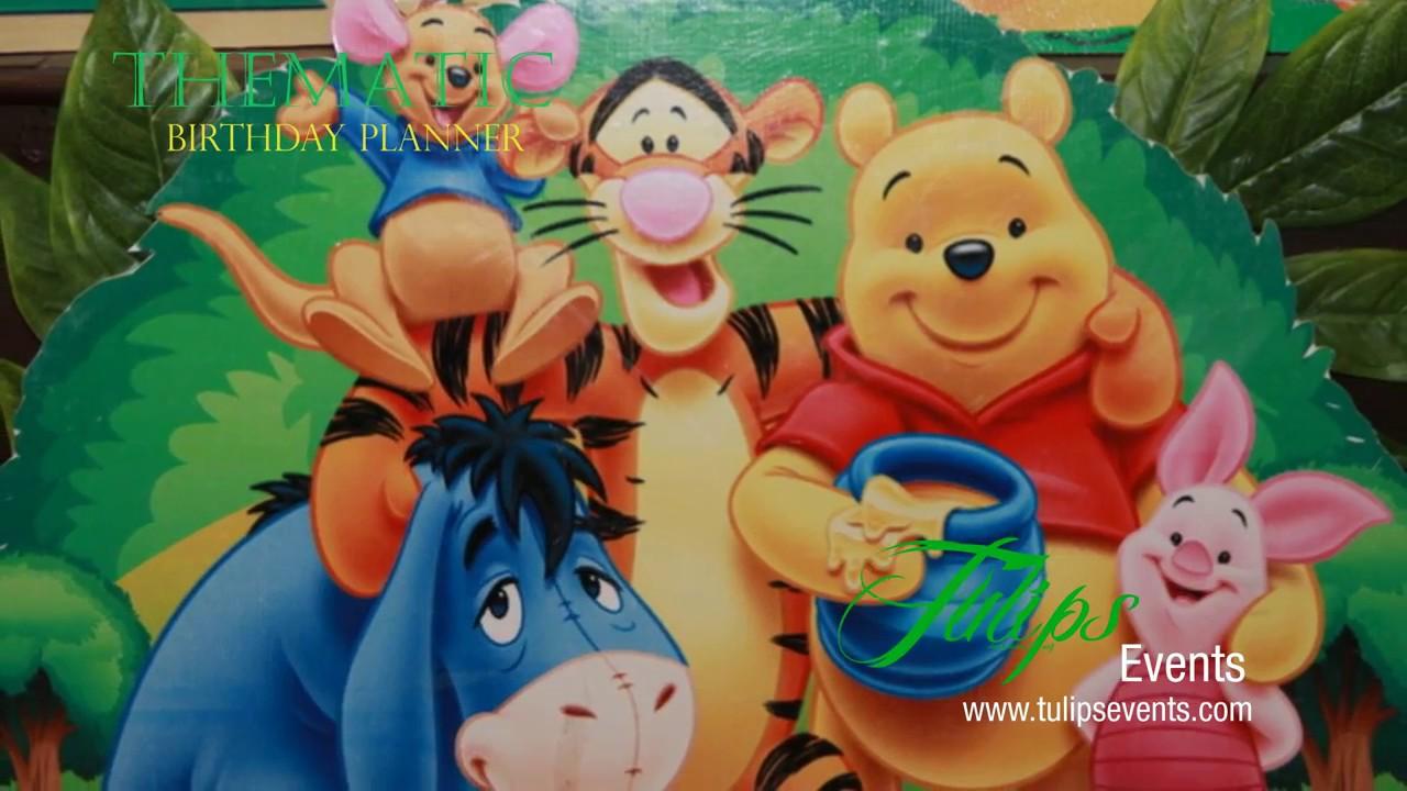 Jungle Safari Zoo Theme Birthday Party Decoration Ideas In Pakistan