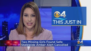Amber Alert Canceled After Missing Homestead Girls Found