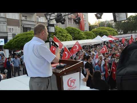Polatlı 15 Milli Birlik İçin Yürüdü