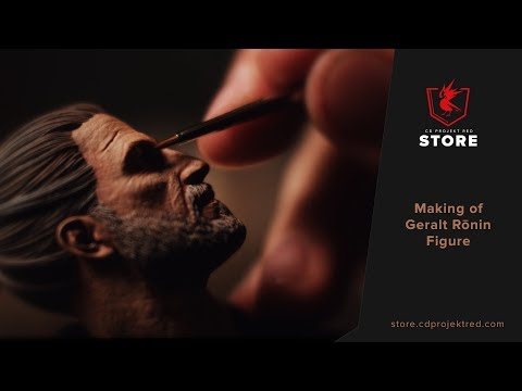 CDPR Merchandise Store | Making of Geralt R�nin Figure