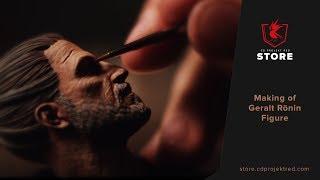 CDPR Merchandise Store | Making of Geralt Rōnin Figure