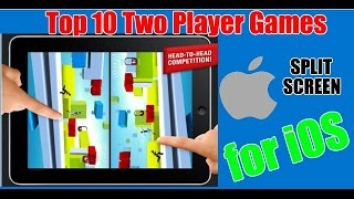 Top 10 Two Player Games for iOS (SPLIT SCREEN)