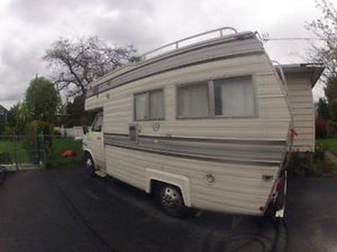 1978 GMC Van dura with Okanagan class C camper - for sale