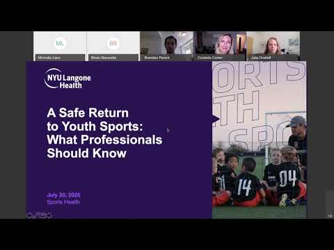 A Safe Return to Youth Sports: What Professionals Should Know