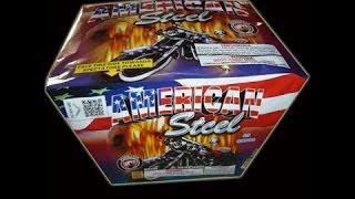 American Steel of 500g Aerials-Dominator Fireworks-500G Cakes