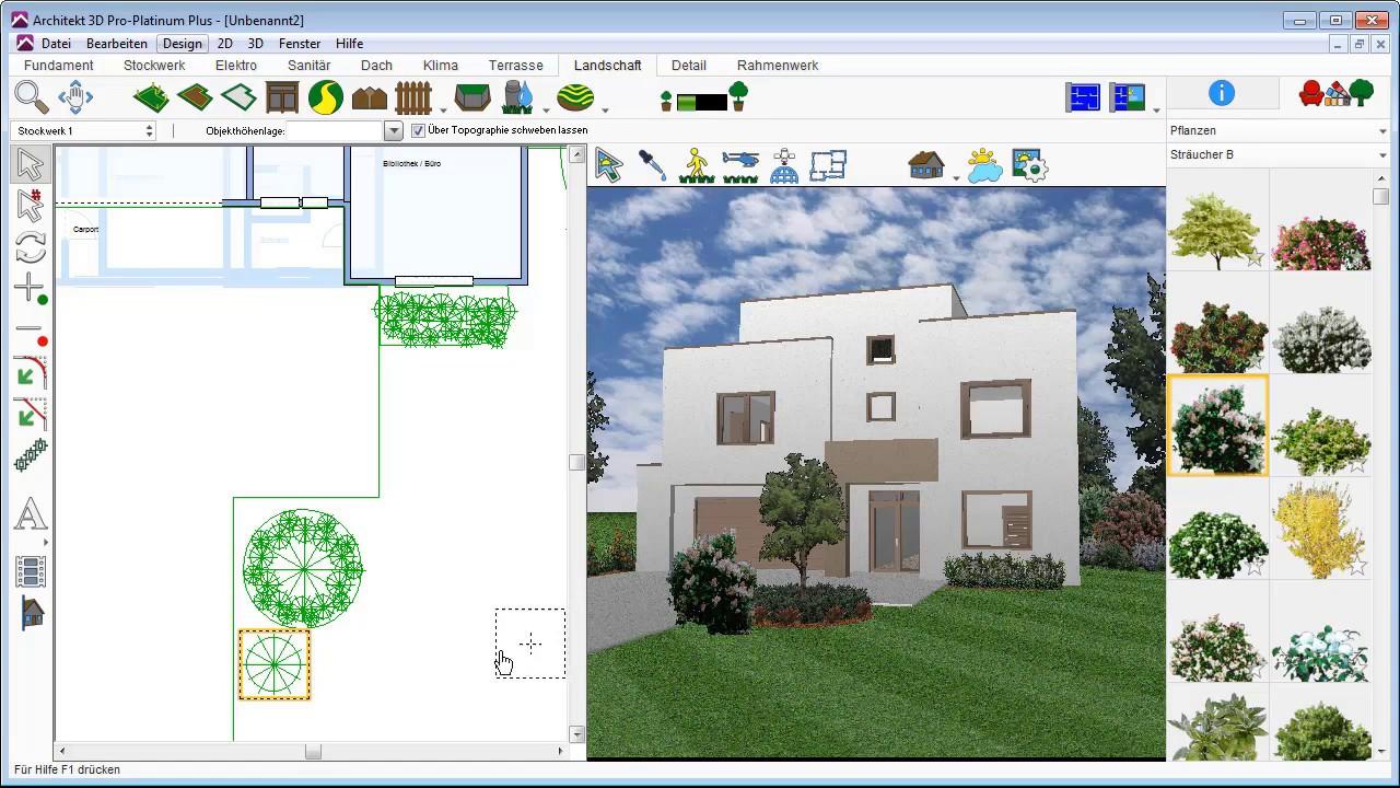 Architekt 3D   Garten Anlegen