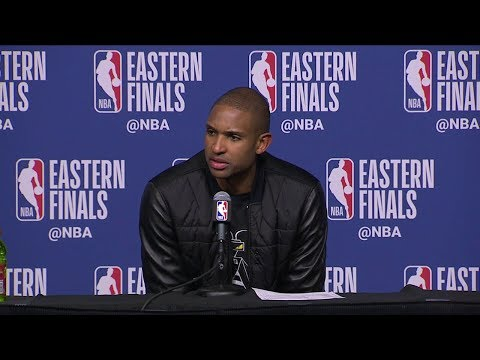 Al Horford Postgame Interview - Game 2 | Cavaliers vs Celtics | May 15, 2018 | 2018 NBA East Finals