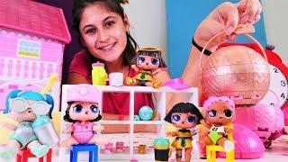 Oyuncak kreşi: LOL bebekler ile öğrenelim! Çocuklar için seçkin bölümler