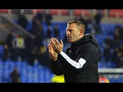 Graeme Jones on the defeat to Reading