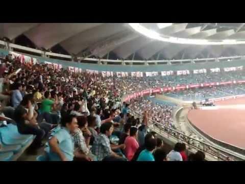 Mexican Wave @ JLN Stadium Delhi (Jawaharlal Nehru Stadium)