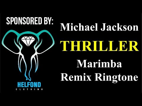 Michael Jackson - Thriller Marimba Ringtone and Alert