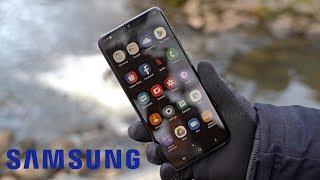 Samsung Galaxy Коментар А70 - Преміум Потрійний Midranger Камери!