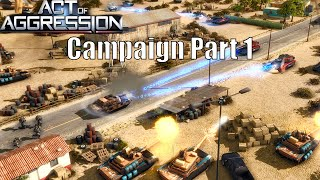 Let`s Play Act Of Aggression Chimera Campaign Part 1 Chimera Attacks!