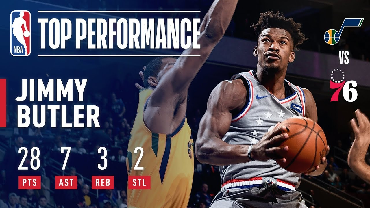 Jimmy Butler SHOWS OUT In 76ers Home Debut  f4db4efe0